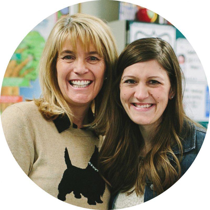 Maria Gavin and Kathy Rimmel - Stitch Fix Teacher Appreciation Surprise