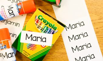 Managing Student Supplies on Back to School Night