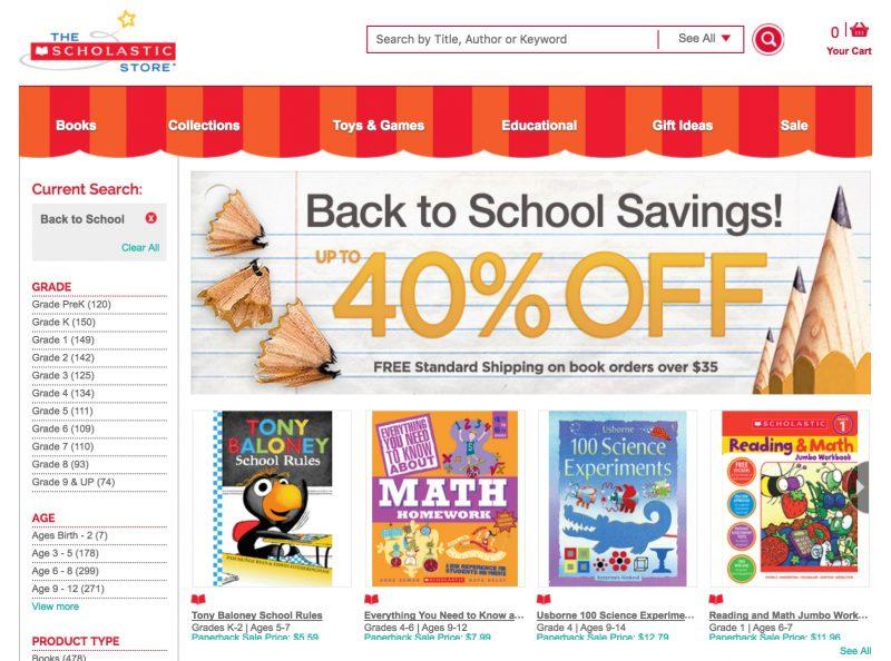 Scholastic Online Store