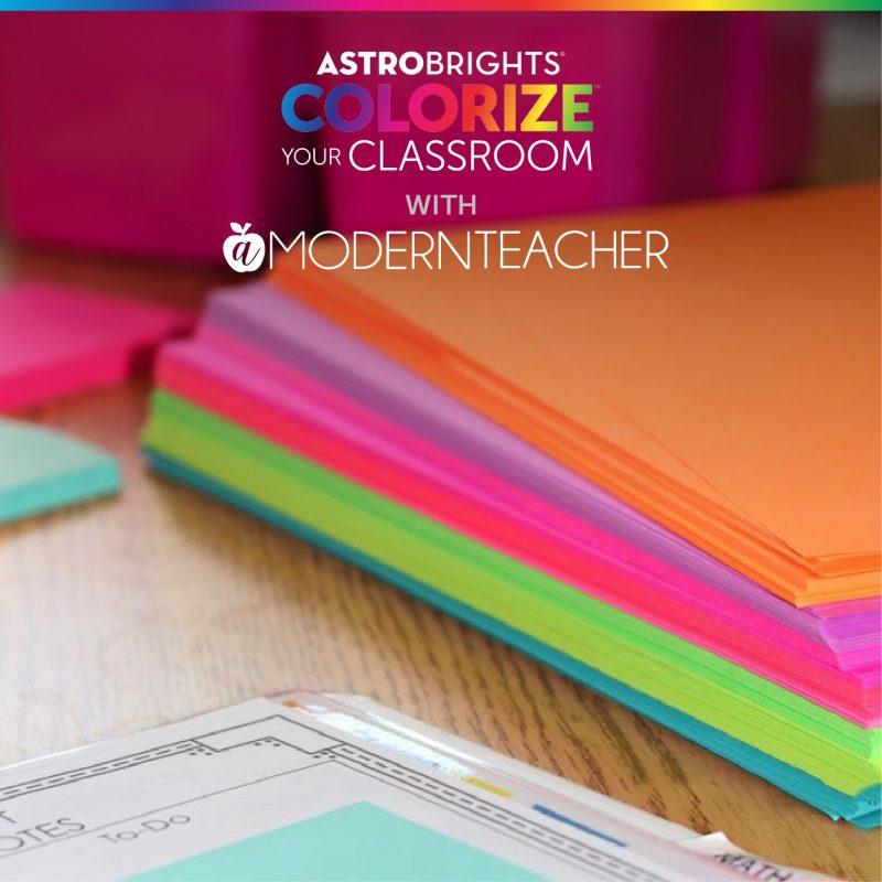 a modern teacher astrobrights