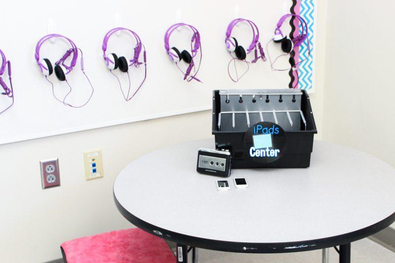 classroom listening center