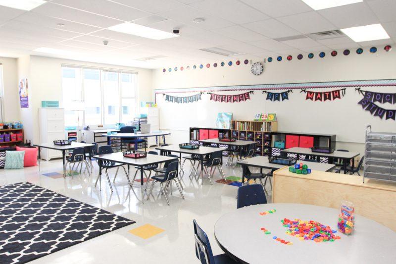 beautiful first grade classroom