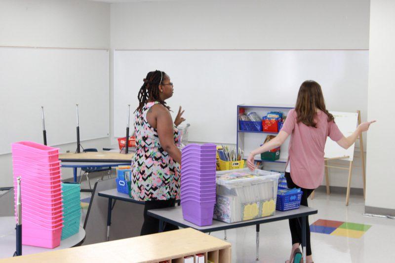 first grade classroom makeover