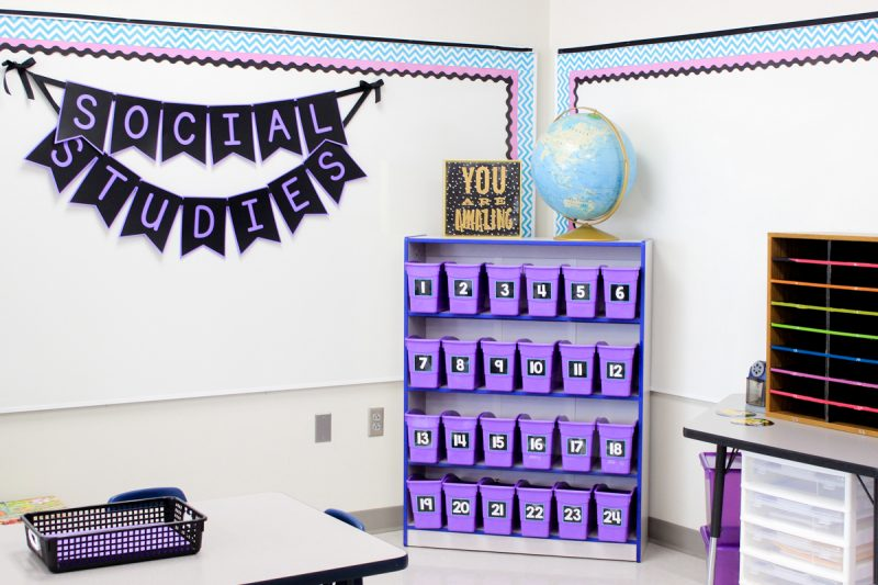 first grade student book boxes