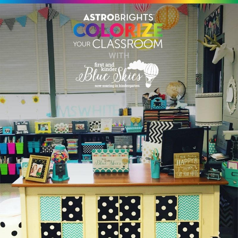 first grade blue skies astrobrights
