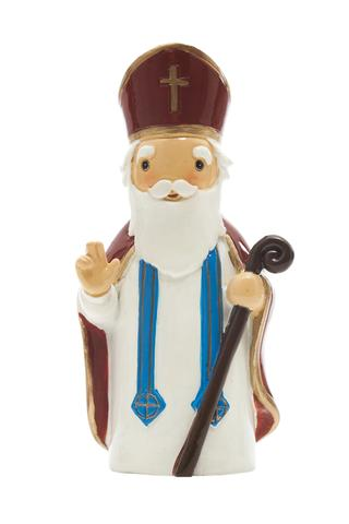 St. Nicholas statue- All Saints Day resources for kids