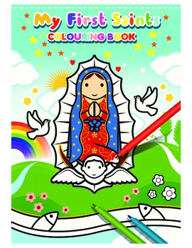 My First Saints Coloring Book- All Saints Day resources for kids