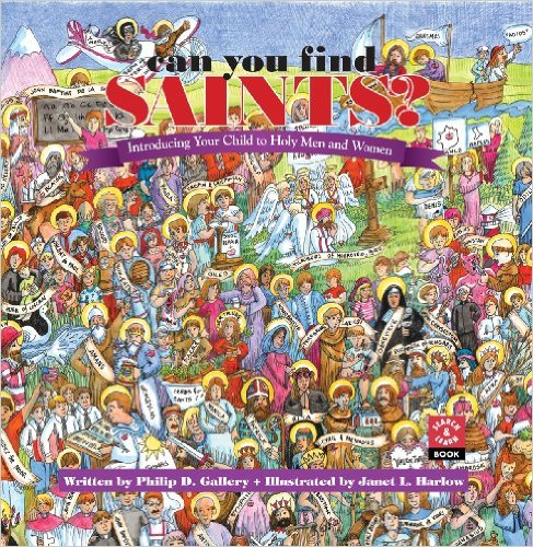 Can You Find Saints - All Saints Day for kids
