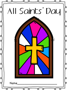 All Saints Day book for kindergarteners - All Saints Day resources for kids