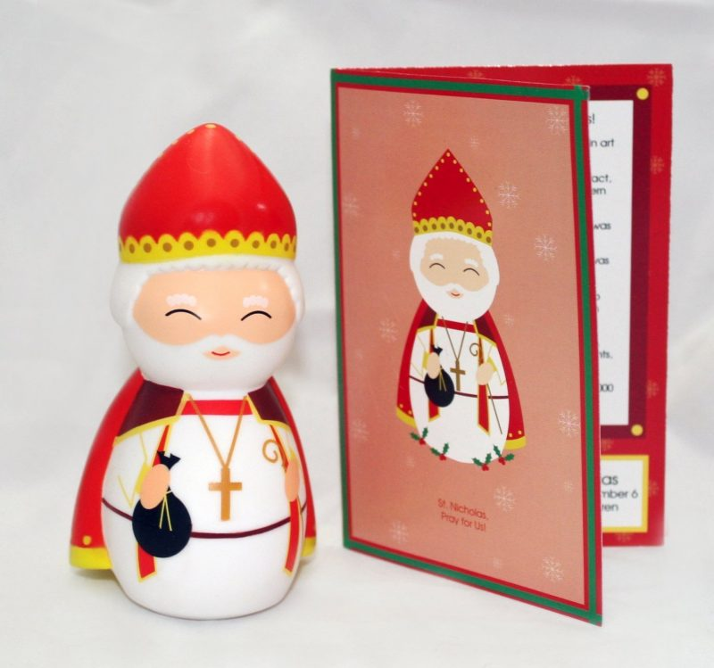St. Nicholas Shining Light Doll - - All Saints Day for kids