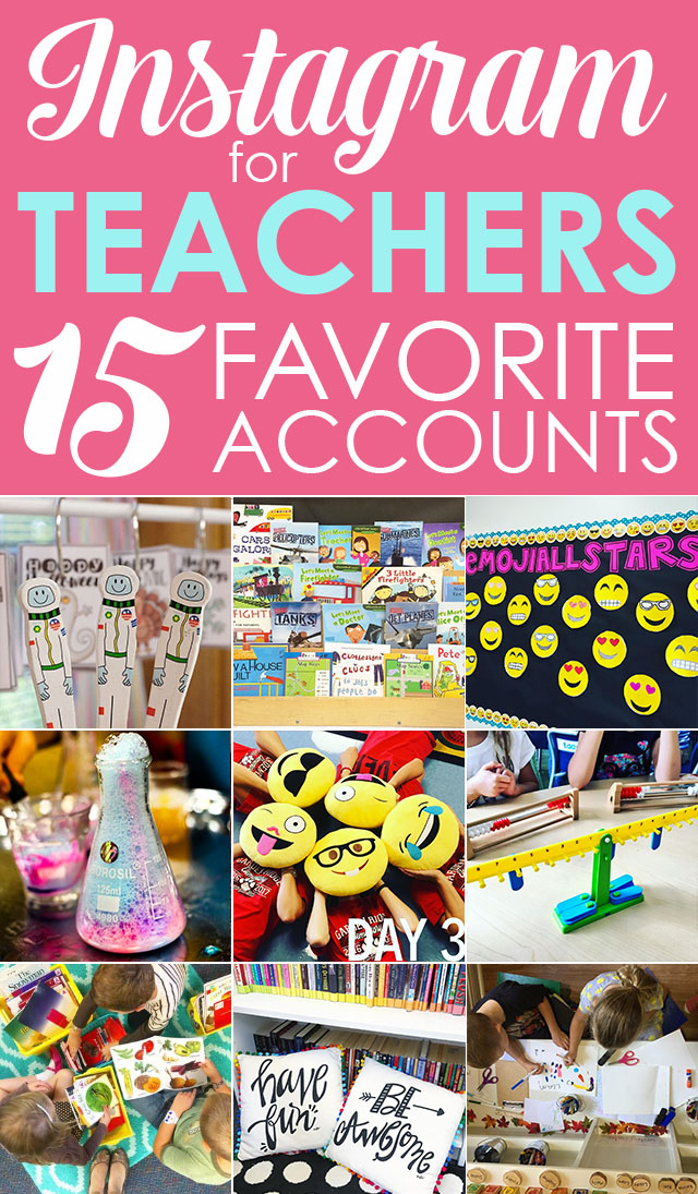 15 Must Follow Teacher Instagram accounts