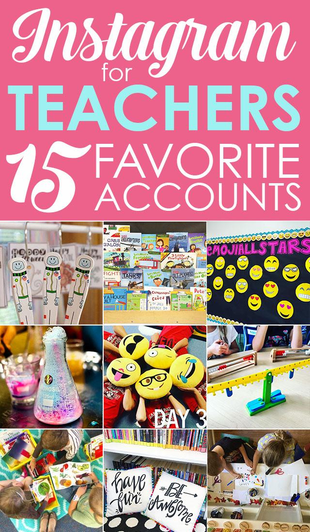 15 Must Follow Teacher Instagram accounts