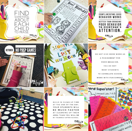 Fun in First - 15 Must Follow Teacher Instagram accounts
