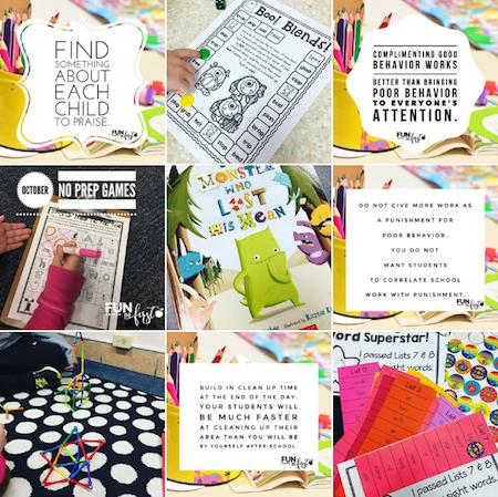 Fun in First - 15 Must Follow Teacher Instagram accounts