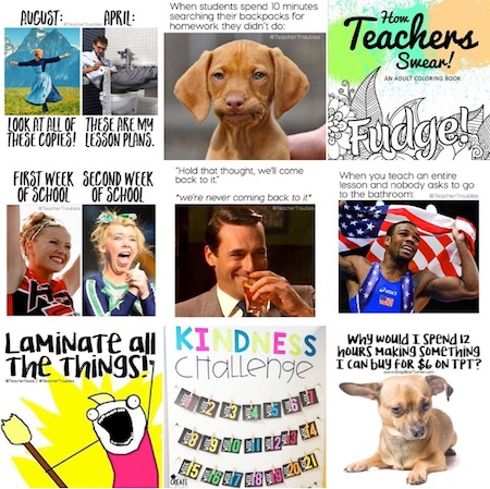 Teacher Troubles on Instagram - 15 Must Follow Teacher Instagram accounts