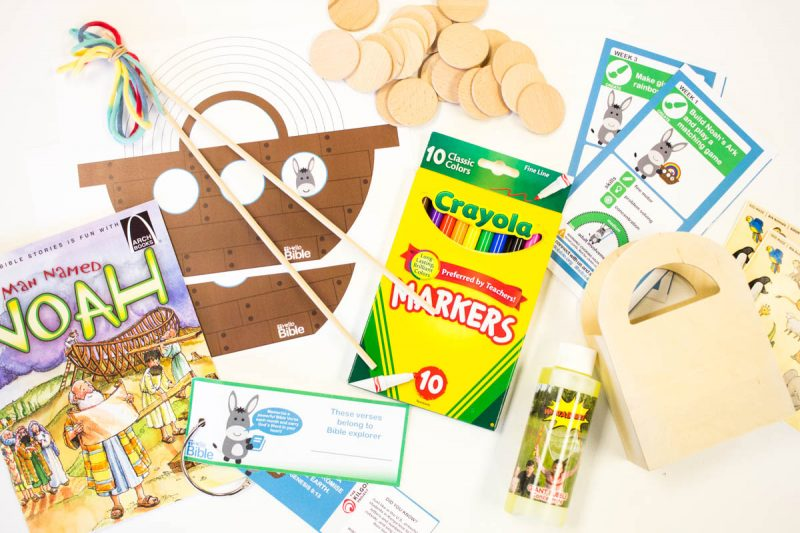 HelloBible: A Christian Subscription Box for Kids - Kinder Craze