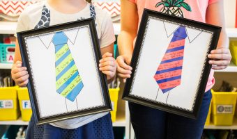 Super Easy (and Adorable) Father's Day Craft Idea