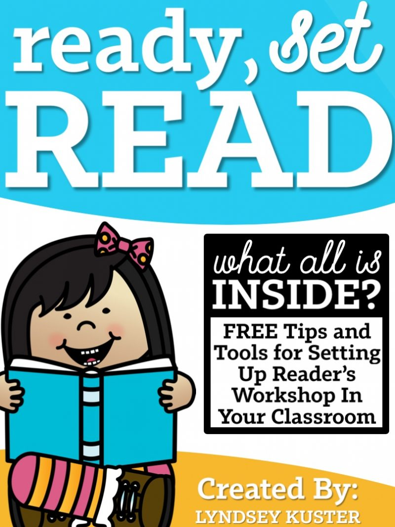 Ready, Set, Read FREE tools from Lyndsey Kuster