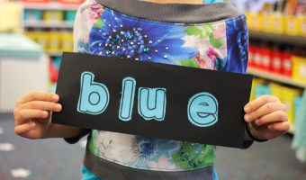 Easy Vibrant Books<br>to Teach Color Words
