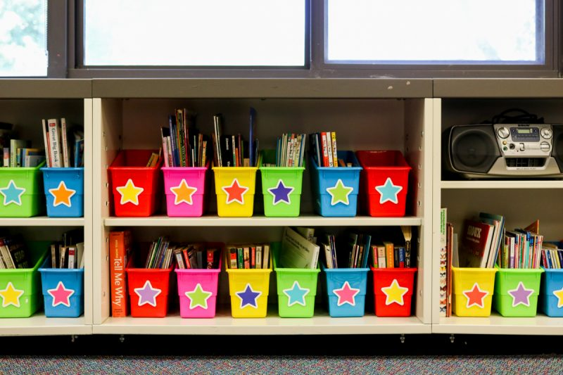 Twinkle Twinkle You're a STAR! classroom theme | classroom library | classroom tour | classroom decor | classroom setup | rainbow classroom theme | back to school | Kinder Craze blog