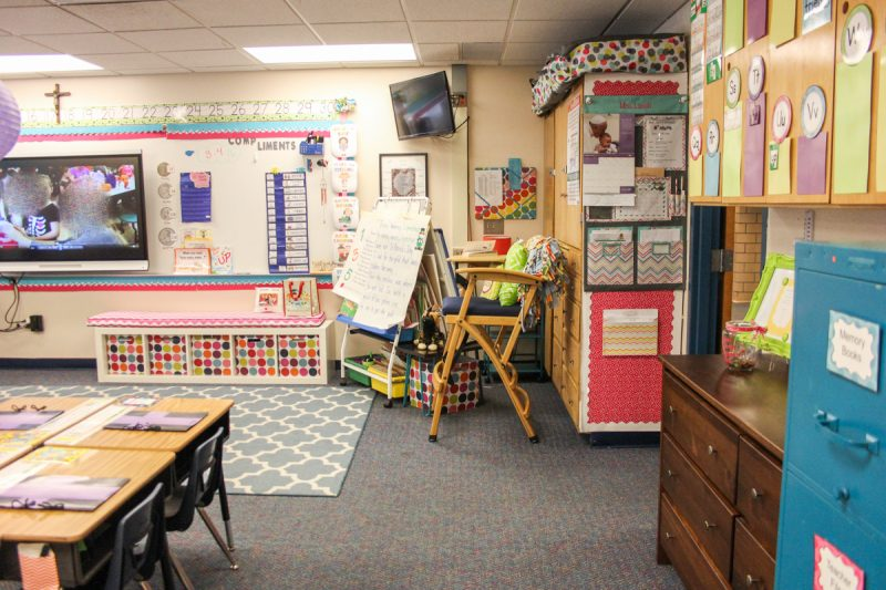 First Grade classroom tour | classroom before and after | classroom makeover | classroom decor | classroom decorations | Kinder Craze blog
