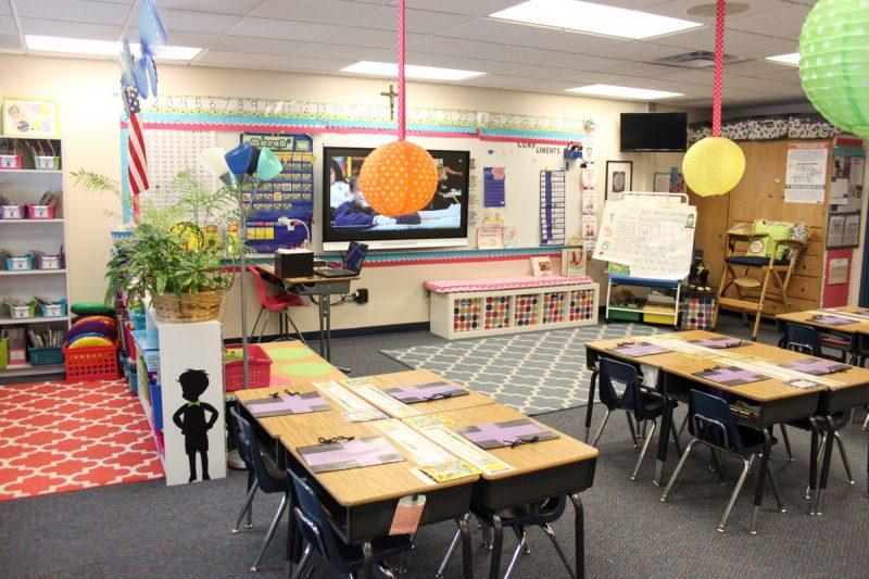 First Grade classroom tour | classroom before and after | classroom makeover | classroom decor | classroom decorations | Kinder Craze blog