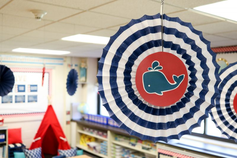 Second Grade Nautical Theme Classroom Makeover | classroom design | classroom decor | Kinder Craze blog #backtoschool #classroom #classroomdecor
